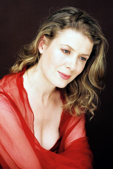 """Soprano Meredith Hall was a featured guest on Apollo's Fire's """"Sacrum Mysterium"""" program Thursday night at Trinity Cathedral."""