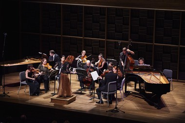 Apollo's Fire, seen here performing Bach at the Cleveland Museum of Art, is kicking off its new season with the first of two tributes to the composer this year on the occasion of his 330th birthday.