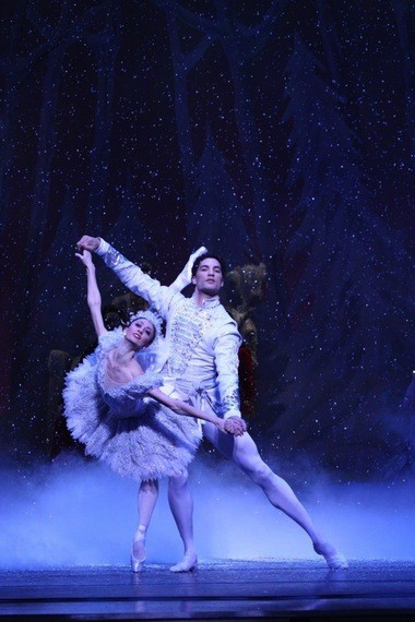 "Joffrey Ballet director Ashley Wheater said he wants viewers of ""The Nutcracker"" in 2014 to be glued to their seats all the way to the grand pas de deux, pictured here."