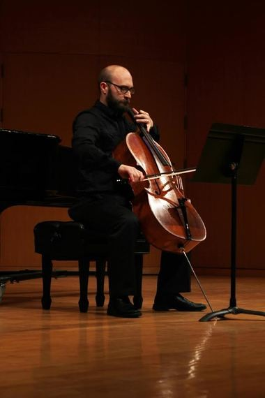 "Cellist Nicholas Diodore kicks off a series of contemporary-music this Saturday with a performance at Heights Arts featuring four of the 12 ""Sacher"" commissions by Berio, Dutilleux, Ginastera, and Lutoslawski."