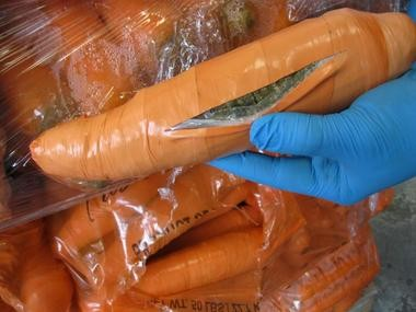 Border agents in Pharr, Texas, found 2,493 pounds of marijuana hidden in a shipment of carrots.