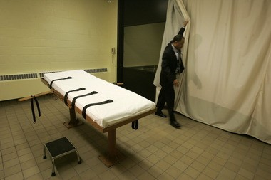 Gov. John Kasich on Thursday denied clemency for convicted rapist and murderer Ronald Phillips, who is scheduled to die Nov. 14 in this death chamber at the Southern Ohio Corrections Facility in Lucasville.