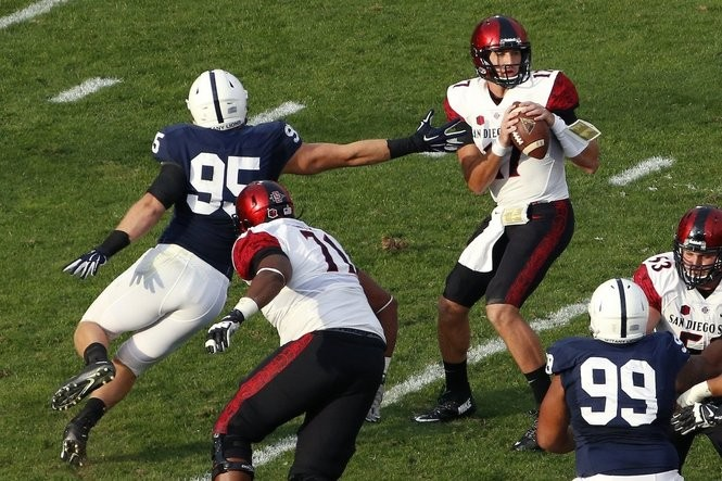 finest selection 48eb4 565fa Carl Nassib: A quick look at the Browns' No. 65 pick in the ...