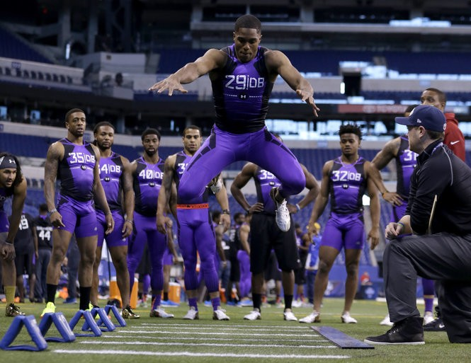 Image result for byron jones combine