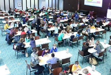 More than 300 Lorain County students from the gifted consortium competed in the math competition STEAM 24 on March 2.