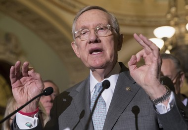 As Senate Majority leader in 2009 and 2010, Harry Reid pulled every parliamentary trick in the book to pass Obamacare without a single Republican vote. Then, on his way out the door, he handed his playbook to Republicans bent on repealing the law.