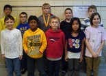 Olmsted Falls Intermediate School finalists in the Geography Bee.