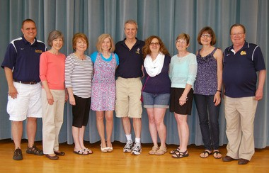 Some of the 2014 Olmsted Falls school district staff retirees