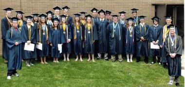 Olmsted Falls Endowment & Alumni Association 2014 scholarship recipients
