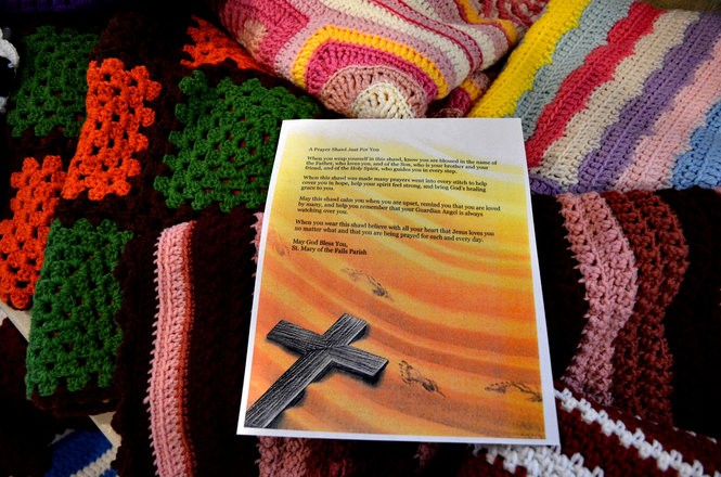 This letter is given to those who receive a shawl.