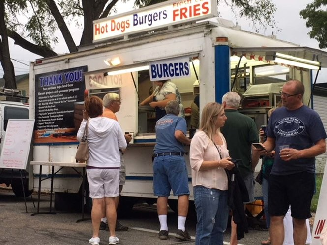 Events like these help groups such as Olmsted Falls Kiwanis Club, which brings its concession stand to local gatherings.