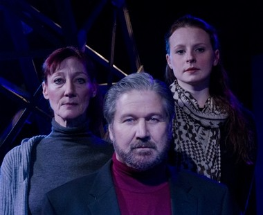 """The three lost souls of """"Terminus,"""" from left to right: Lucy Bredeson-Smith, Dana Hart and Rachel Lee Kolis."""
