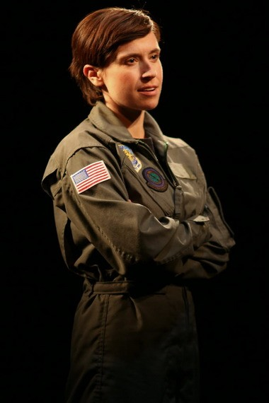 """Hannah Cabell starred in """"Grounded"""" at the Helen in May. The production was part of the Cleveland Play House New Ground Theatre Festival."""