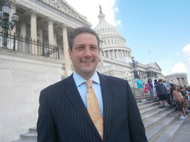Niles Democratic Rep. Tim Ryan outside the U.S. Capitol.