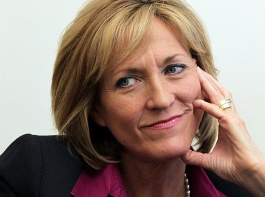 Former U.S. Rep. Betty Sutton, shown above at a Plain Dealer editorial board meeting in 2012, announced Friday that she will not run for governor in 2014.
