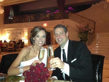 Rep. Tim Ryan released this wedding photo on Facebook.