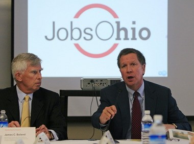 JobsOhio chairman James Boland, attributed areas of non-compliance found by the auditor to the company being in a start-up mode.
