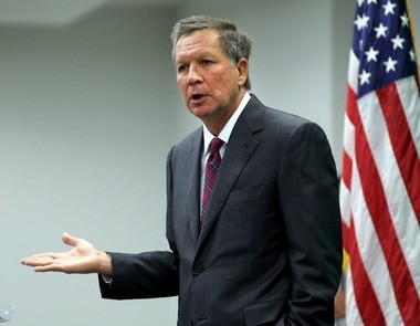 Gov. John Kasich says he is unphased by Tea Party frustrations over his support for Medicaid expansion and the expansion of Ohio's severance tax.