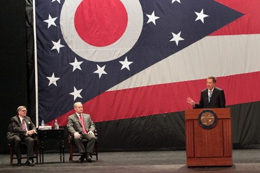 Gov. John Kasich proposed using $10 million of casino revenue for community engagement for schools and more student mentoring in his State of the State speech Monday.