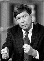 """John Kasich declares on """"Meet the Press"""" in February 1999 that he's about to launch a presidential exploratory committee."""""""