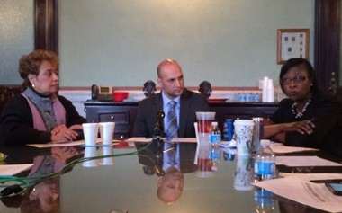 Democratic Sens. Charleta Tavares of Columbus, Joe Schiavoni of Boardman and Sandra Williams of Cleveland on Wednesday outlined a few of their legislative priorities for the new two-year session.