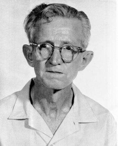 Clarence Earl Gideon in 1963.
