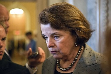 Senate Intelligence Committee Chairwoman Dianne Feinstein, speaking to reporters on Monday regarding revelations of broad intelligence gathering by the National Security Agency.