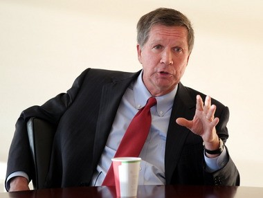 Gov. John Kasich may face a challenger in next year's Republican gubernatorial primary from Ted Stevenot, a southwest Ohio tea party leader.