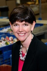 Kristin Warzocha is president and CEO of the Greater Cleveland Food Bank