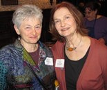 Lois Romanoff, right, in a 2012 file photo, pictured with JoAnn Giordano.