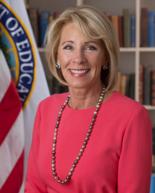 Betsy DeVos is the U.S. secretary of education.