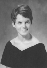 "Virginia ""Ginny"" Kirsch's 1970 graduation picture."