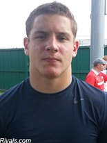 St. Thomas Aquinas sophomore defensive end Nick Bosa, who has an offer from Ohio State.