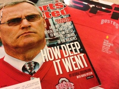 Media coverage, especially this looming Sports Illustrated cover story, helped lead to Jim Tressel's resignation according to Gene Marsh, who served as Tressel's attorney for NCAA matters in 2011.