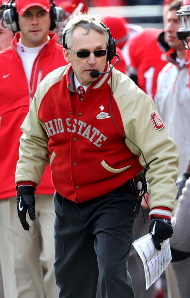 Ohio State-Michigan is played the last week of the regular season in late November, which is why Jim Tressel had to wear gloves in 2010. It's hard to imagine playing it at a different point in the schedule.