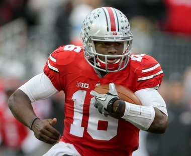 Ohio State quarterback J.T. Barrett is one of a few top players from Texas that Tom Herman helped the Buckeyes lure to Columbus.