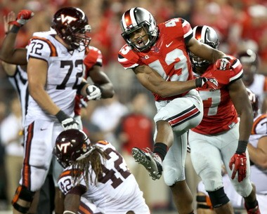 Ohio State linebacker Darron Lee was a Columbus-area three-star prospect. He has now blossomed into a potential first-round NFL Draft pick.