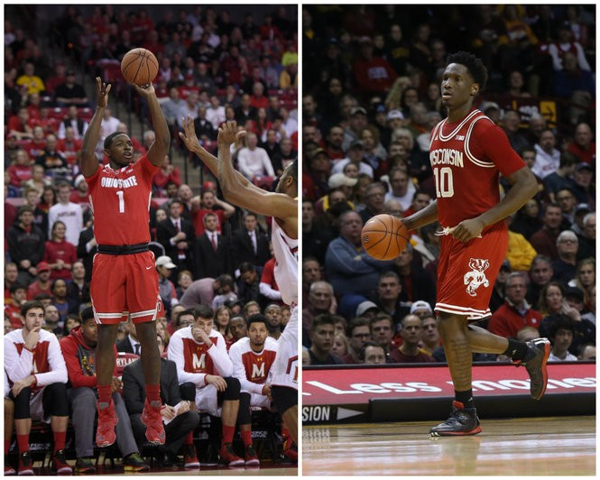 Can Ohio State forward Jae'Sean Tate evolve to become a player like Wisconsin's Nigel Hayes?