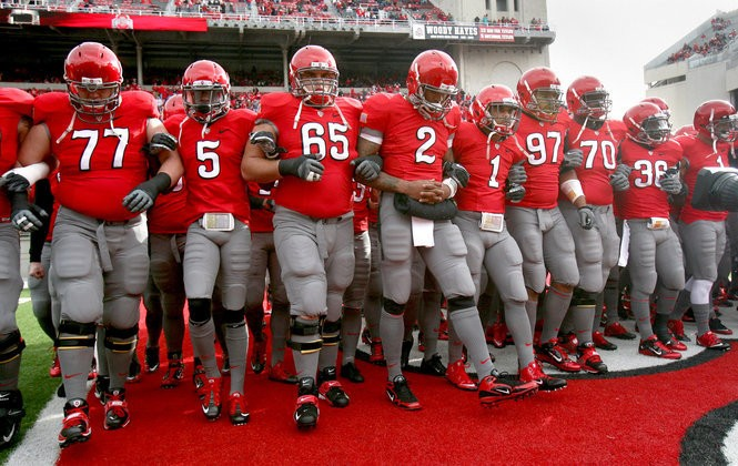 new product 543d0 b1f50 Ohio State football's alternate uniform for 2016: Ready for ...