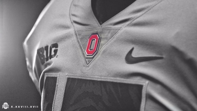 super popular fe77c 86196 Ohio State unveils more of its alternate gray jersey ...