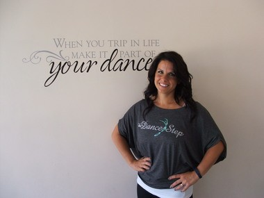 Michelle Serra was Miss Parma 1997 and now owns the Dance Step.