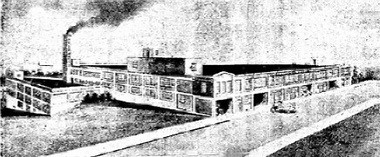 This rendering of the Fairmont Creamery plant in Cleveland ran with an article in The Plain Dealer in 1930.