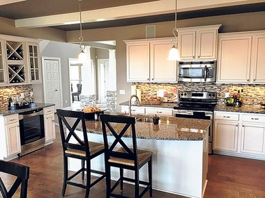 Parkview Homes hosts grand opening of craftsman-style homes