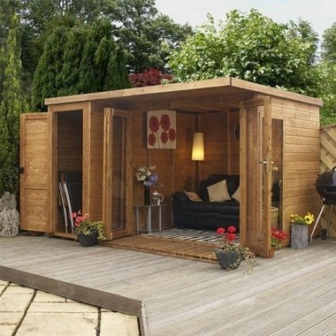 """: Several """"she sheds,"""" backyard getaways for women, will be shown at the NARI Home Improvement Show."""