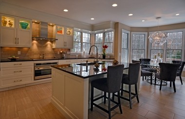 Elegant kitchens, including this one created by the Hall Design Group, don't happen by accident, but by careful planning. The NARI Home Improvement Show provides inspiration and practical help to make that happen.
