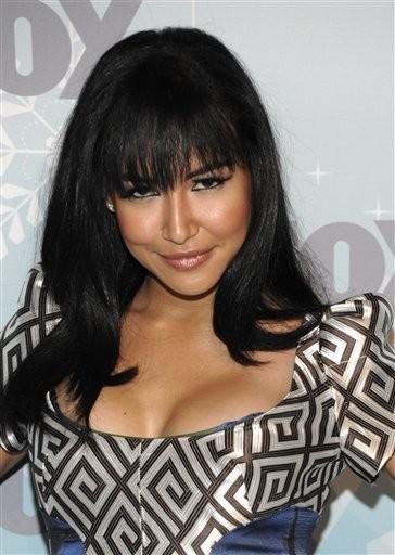 "Actress Naya Rivera of ""Glee"" turns 28 today. (AP Photo/Dan Steinberg)"