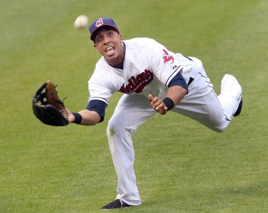 Left fielder Michael Brantley set a club record for errorless games by an outfield on Monday with his 213th errorless game.