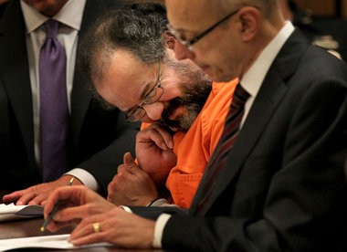 Ariel Castro in court July 26. He pleaded guilty to 937 counts of a 977-count indictment.
