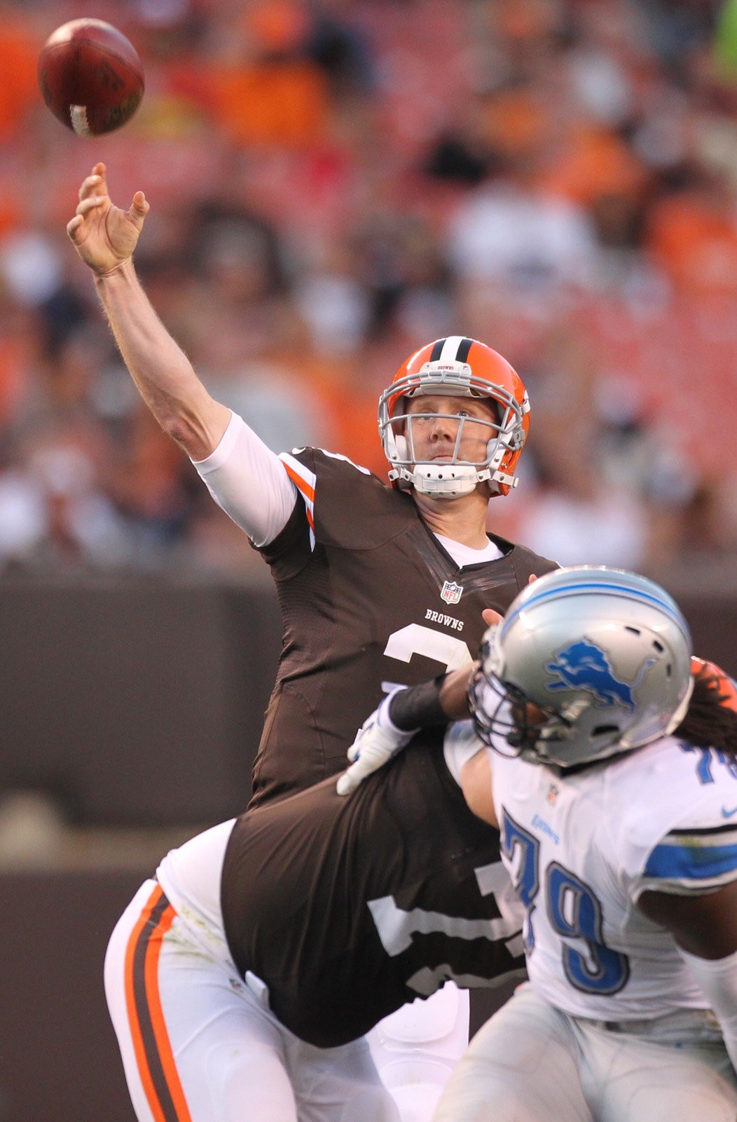 Brandon Weeden needs to show serious improvement this season if he plans on being the franchise quarterback.