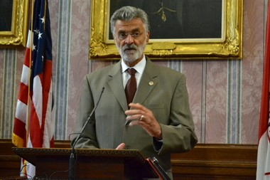 """Mayor Frank Jackson said his administration """"will not tolerate"""" illegal dumping at a Tuesday press conference."""